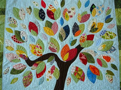 the tree quilt leaves a quilt for my niece tree and