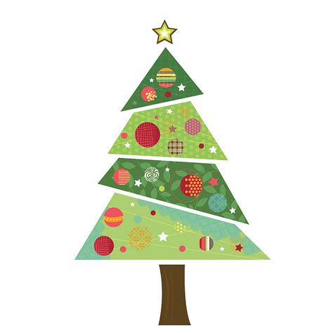 28 fabric christmas tree wall sticker christmas