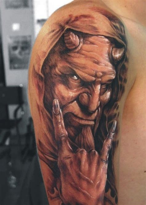 demon tattoos for men artbychristy tattoos for guys