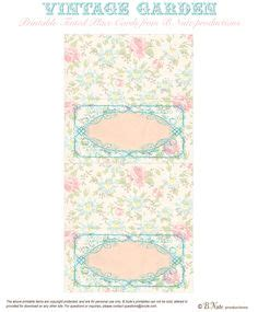 tea place cards template design your own bag toppers free avery 174 templates