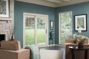 Patio window treatments sliding doors home round
