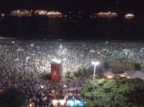 copacabana new years new year on copacabana de janeiro brazil