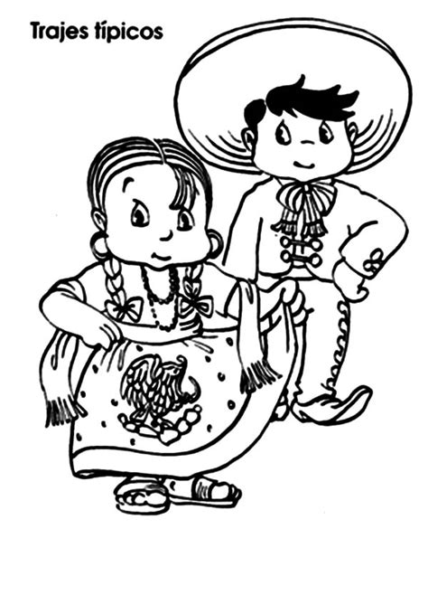 Mexican Coloring Pages For