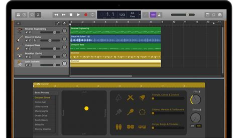 work with percussionists in garageband for mac apple support