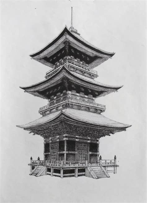 japanese building tattoo designs japanese temple by suraj28 on deviantart