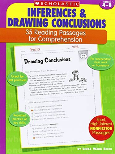 picture books for inferences 35 reading passages for comprehension inferences