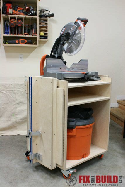 mobile miter  stand plans mitre  stand diy miter