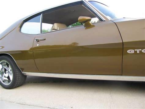pontiac 400 rebuild 1971 pontiac gto fresh rebuild on original 400 motor stock