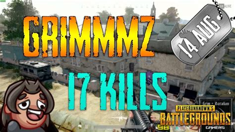 pubg grimmmz  kills aug  frags decouvrez le