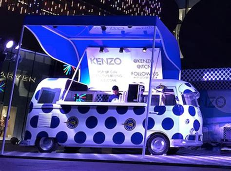 Kenzo Bus drives smart brand activation for UAE launch   Truly Deeply   Brand Agency Melbourne