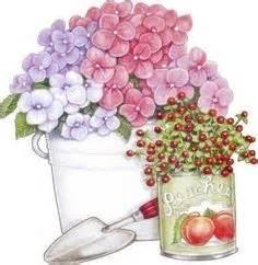 Paper Flowers Paket Menujuhalal1 1 watering can of flowers decopaj