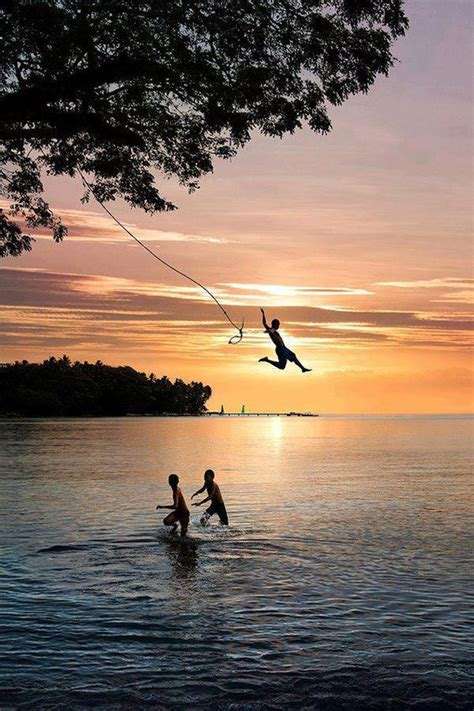 swing sets ta 13 rope swings that will make you want to plunge into a