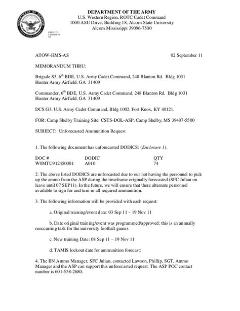 Army Appeal Letter Exle Army Request Memo Exle Go Search For Tips Tricks Cheats Search At Search