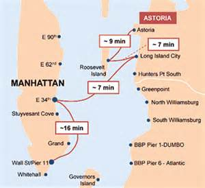 New York Ferry Map by New Astoria Ferry Service Can Get You To Manhattan Faster