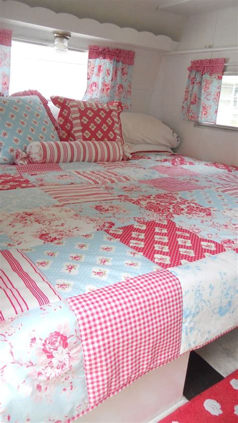 cervan bedding and curtains caravan love the duvet and little curtains quot nothing makes