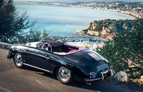 porsche speedster dean porsche 356 black rent a classic car la location de