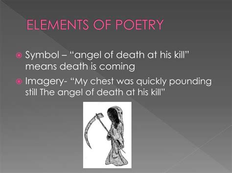 literature themes about death ppt angel of death by huji theme you never know when