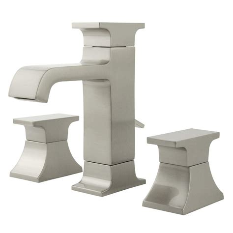 moen kitchen faucets brushed nickel pegasus kitchen moen banbury 8 in widespread 2 handle high arc bathroom