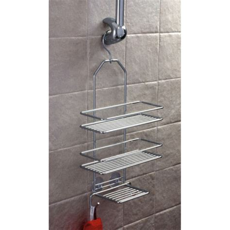 dusche aufbewahrung satina hanging shower shelf unit 58390 at