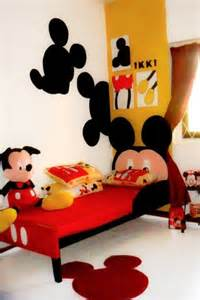 mickey mouse themed room designs and furniture