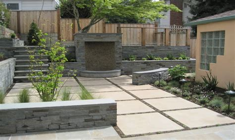 Modern patio design, stamped concrete patio designs modern