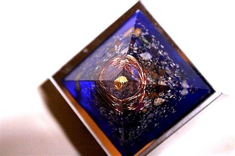 orgone crystal gemstone orgone pyramid reiki feng shui