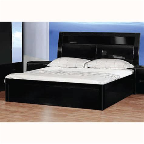 madrid black high gloss bed 11245 furniture in