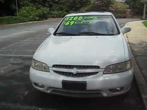 2000 nissan altima w sunroof youtube