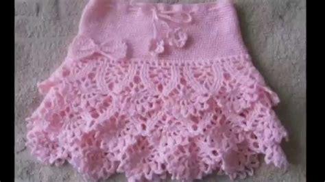 faldas de crochet para nina faldas tejidas a crochet para ni 241 as youtube
