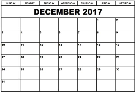 Calendar 2017 Monthly Uk Monthly Calendar December 2017 Calendar And Images