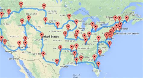 best road trip map for usa the ultimate road trip across u s quaintrelleoquist