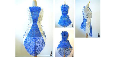dress 3d printed with the 3doodler pen by