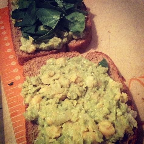 vegan chickpea avocado sandwich spread modern martha