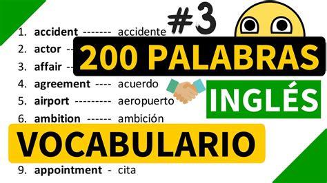 el significado de pattern en español 200 palabras importantes en ingl 233 s y su significado en