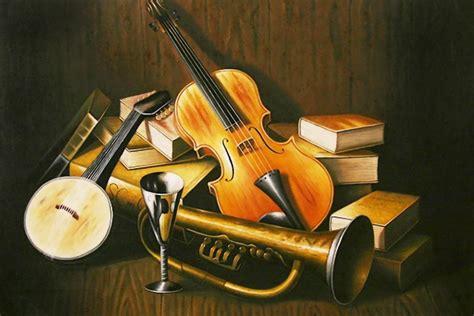 imagenes artisticas con escenas musicales cuadros modernos pinturas y dibujos bodegones musicales