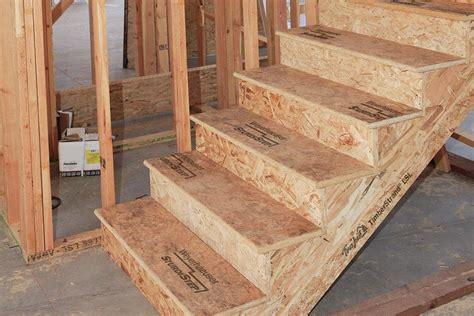 Weyerhauser?s SturdiStep OSB   JLC Online   Staircases
