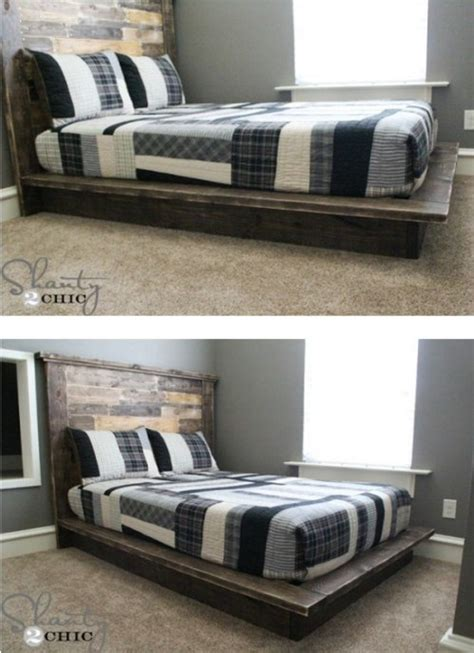 21 Diy Bed Frame Projects Sleep In Style And Comfort How To Build A Single Bed Frame