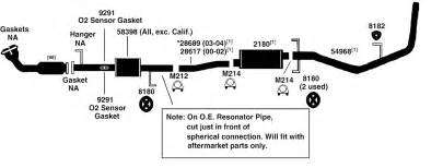 Toyota Tundra Exhaust System Diagram Toyota Tundra Exhaust Diagram From Best Value Auto