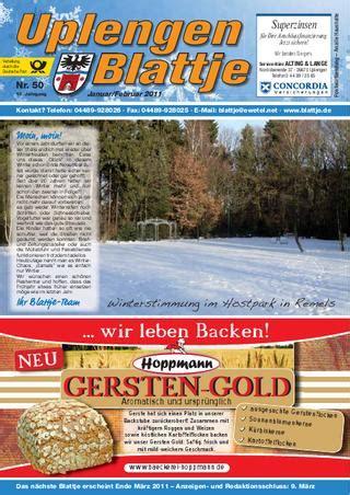 Postwurfsendung An Alle Haushalte 2300 by Blattje Januar 2011 By Uplengen Blattje Issuu