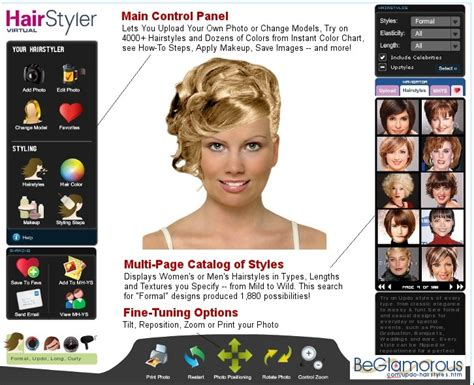 Test Hairstyles On Yourself | updo hairstyles test them online on your photo