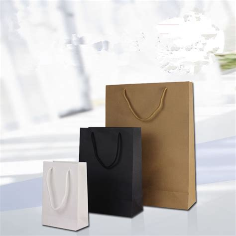 White Spot Gift Card Promotion - luxury gift bag custom spot shopping bag thick business feedback bags wholesale white