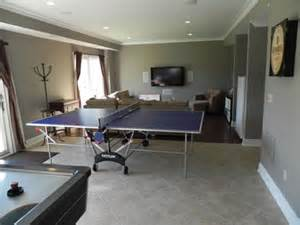 Basement or attic as a multi functional room for entertaining titus