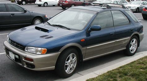 1994 subaru outback kreative discussions caught behind a subaru