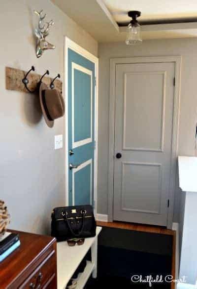 painting  door   color   walls