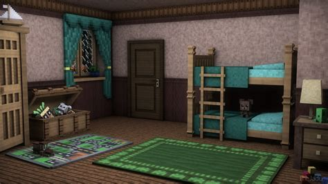 minecraft childrens room minecraft