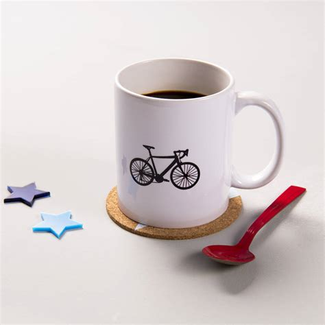 cool mug designs i was cycling before it was cool ceramic mug by oakdene