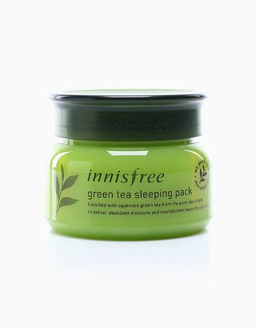 Innisfree Greentea Sleeping Pack green tea sleeping pack by innisfree products beautymnl