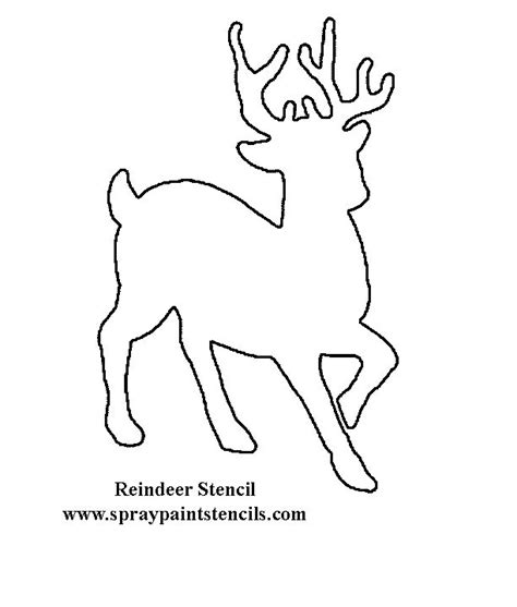 small printable reindeer 95 best images about stencil patterns on pinterest
