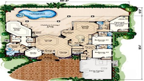 mediterranean house floor plan and design mediterranean villa style flooring mediterranean style house floor plans mediterranean house