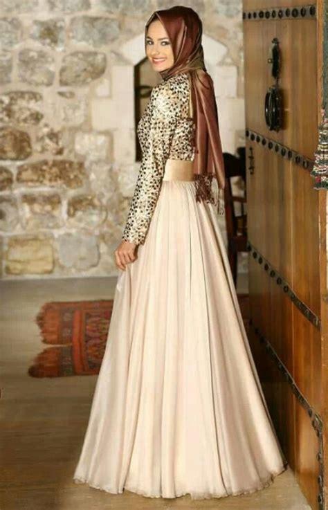 Busana Gaun Pesta Baju Gamis Terbaru Model Busana Muslim Pesta 2015